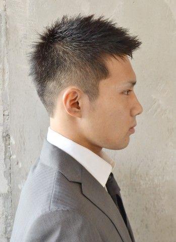 ビジネスベリーショート 刈り上げ メンズ ヘアスタイル 短い髪の
