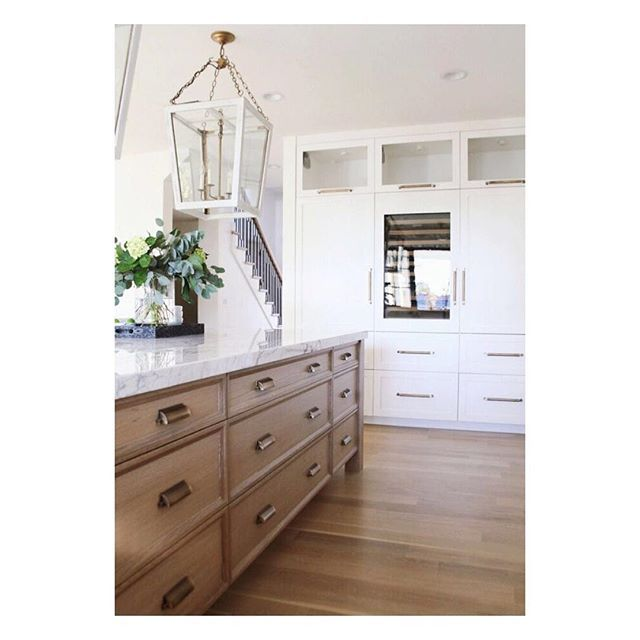 White Oak Kitchen: White Oak + White + Brass = A Warm, Timeless Kitchen