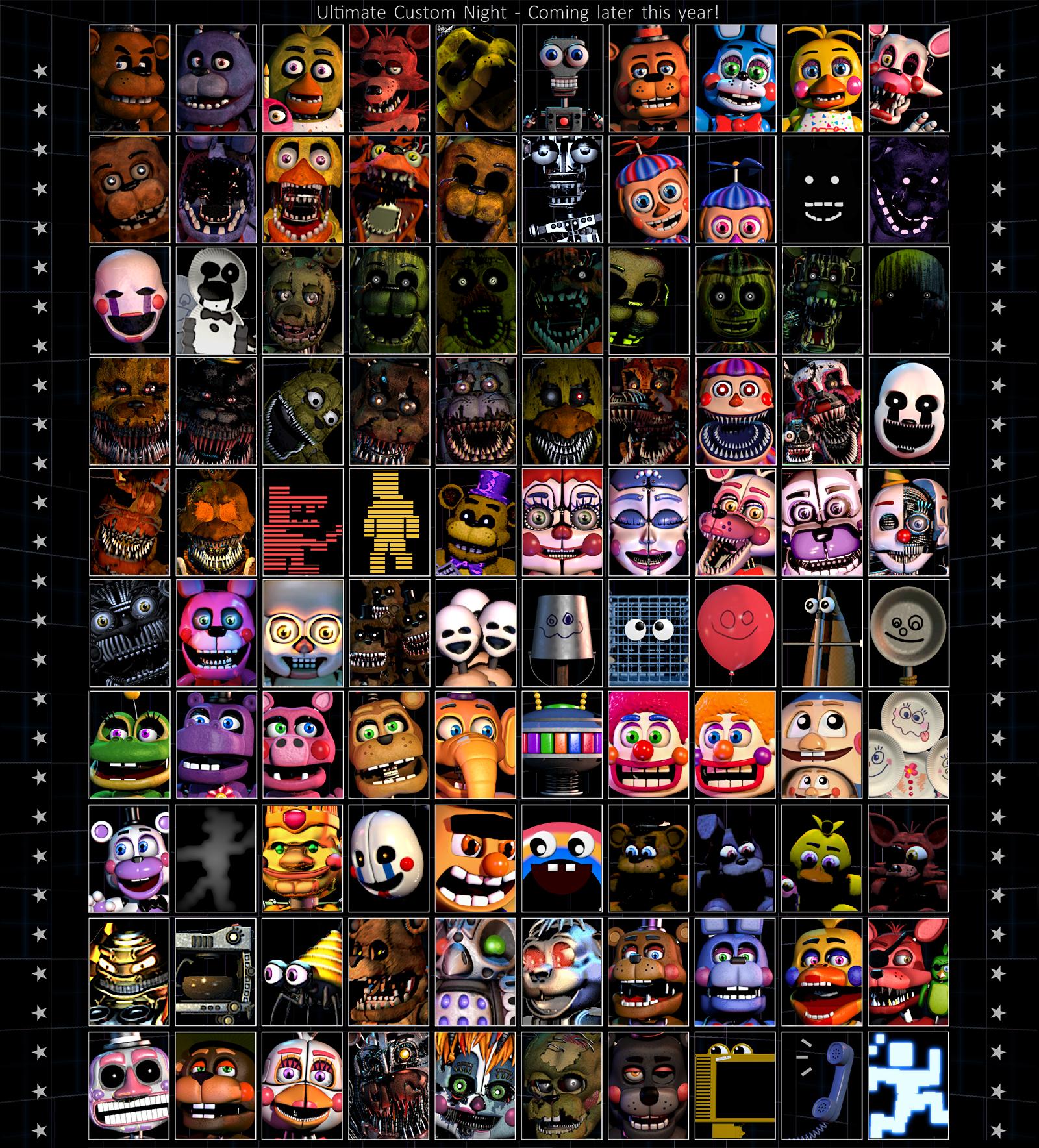 Image Result For Ultimate Custom Night