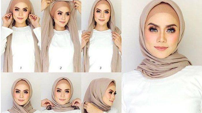 Tutorial Hijab Untuk Di Kantor Casual Hijab Outfit Gaya Hijab Model Pakaian Hijab
