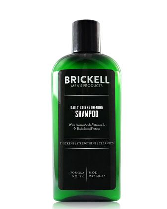 Photo of Brickell Mens Products Daily Strengthening Shampoo, 8 oz./ 1…