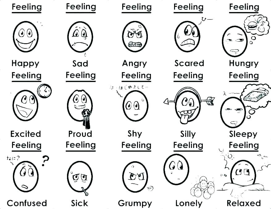 emotions coloring page emotion coloring pages emotion
