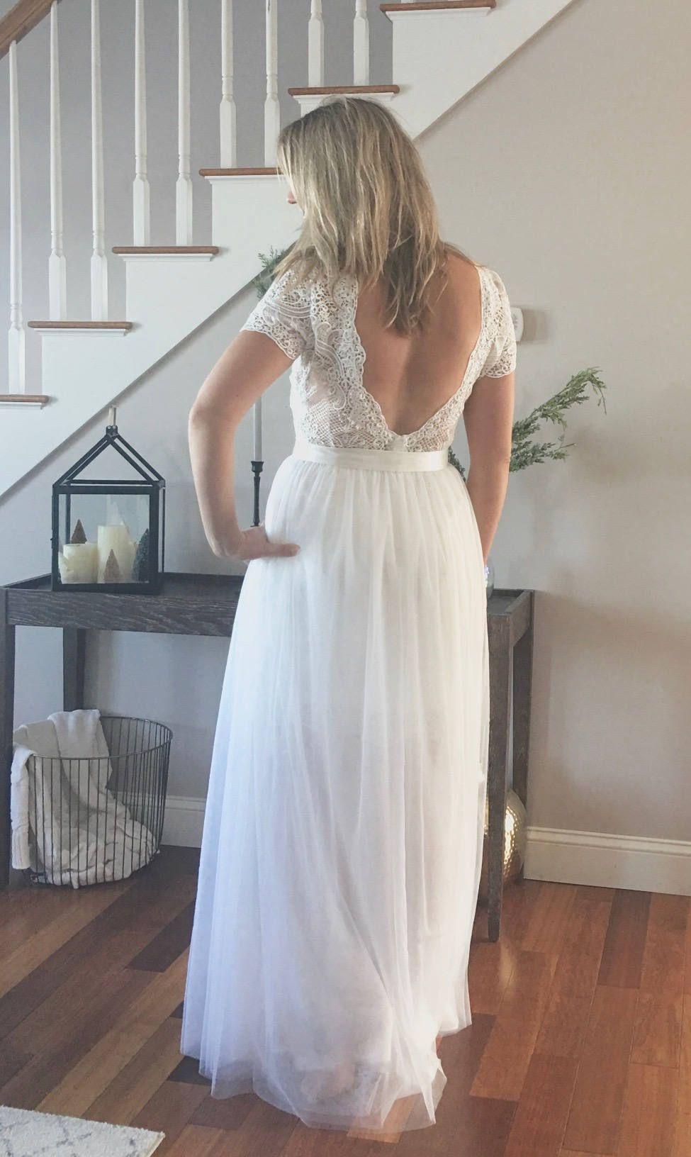 Detachable Wedding Skirt Separates Soft Skirt Over