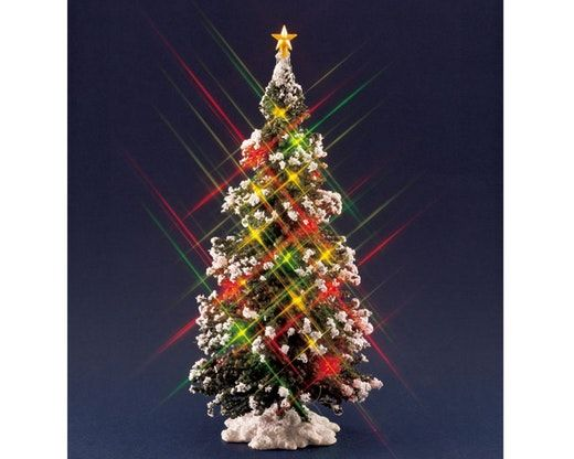 74162 Lighted Christmas Tree Large : Lemax Table Piece, 1997 - 74162 Lighted Christmas Tree Large : Lemax Table Piece, 1997 Art