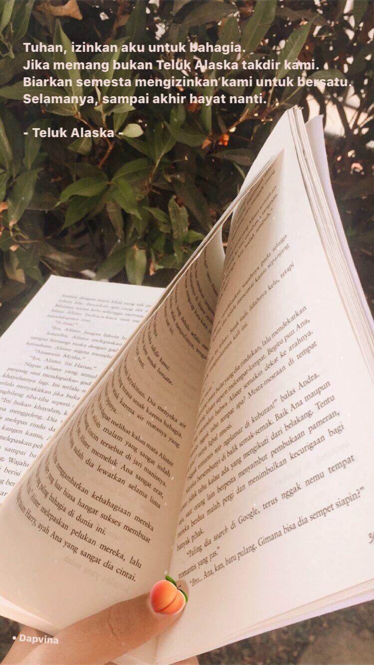 Teluk Alaska Eka Aryani Kutipan Buku Kata Kata Indah Takdir