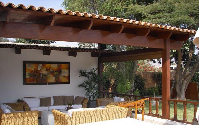 697 441 ranchos pinterest techos de for Viviendas para terrazas