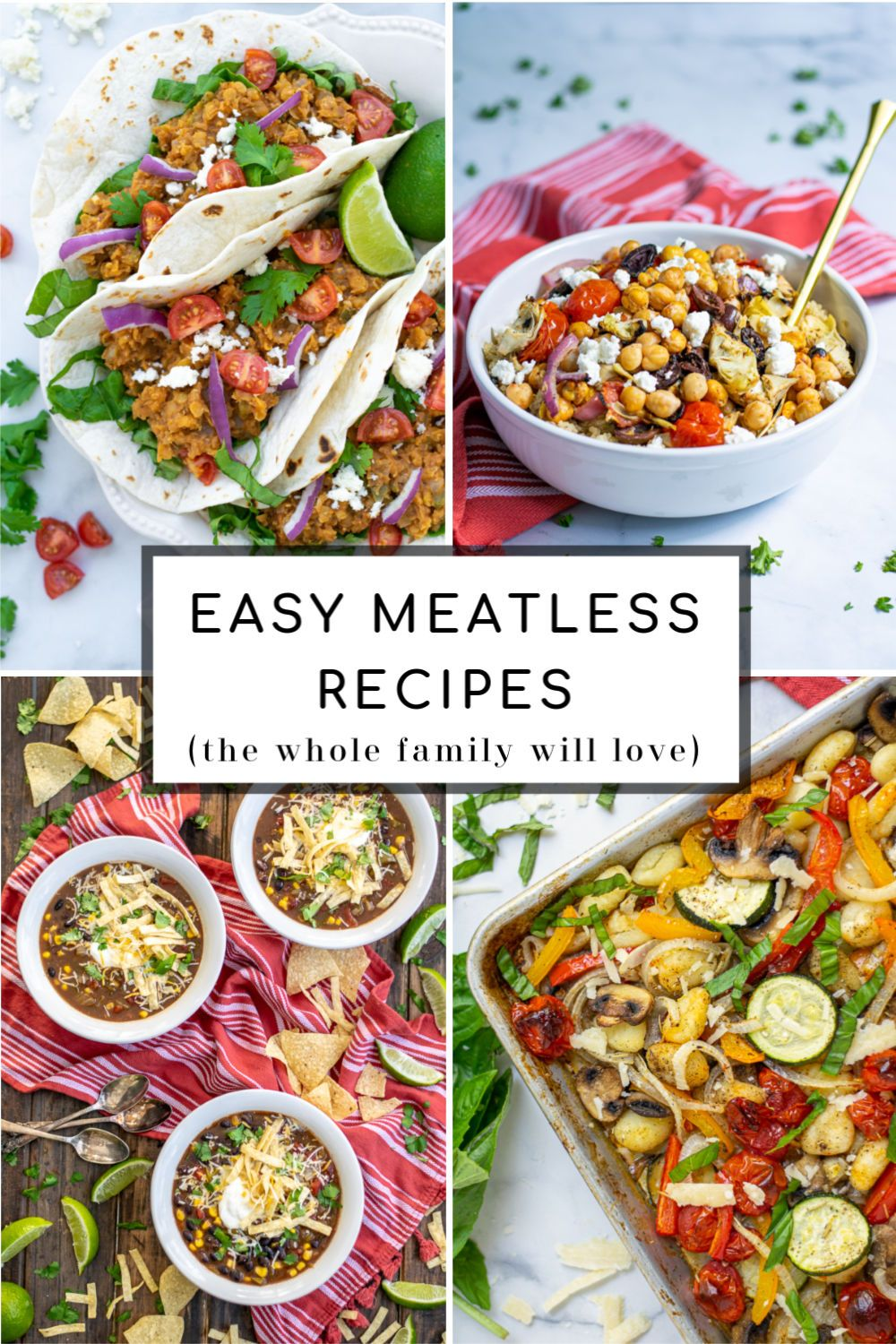 Easy Meatless Meal Ideas That Are Healthy Family Favorites Perfect For Kids Meatlessmeals Easy Forlent Fam Meatless Meals Meatless Meals Healthy Meatless