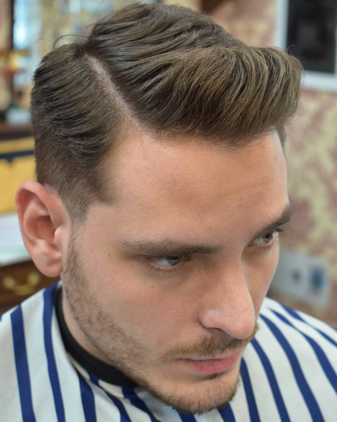 Aleso Low Fade Haircut Medium Hair On Top Mens Hairstyle 2017