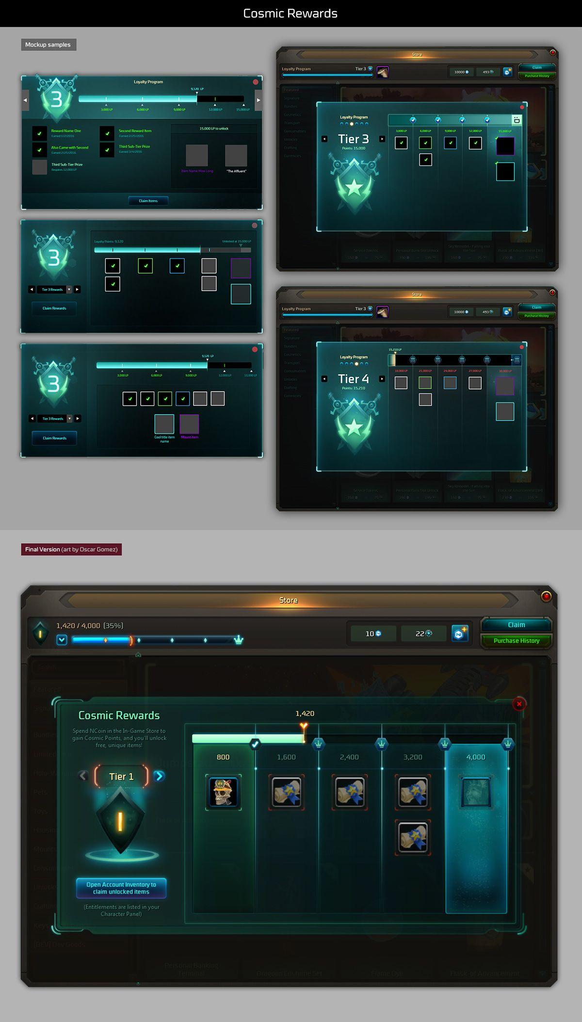 Wildstar Game Interface
