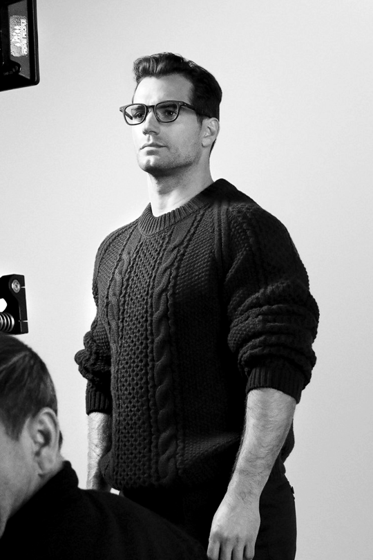 60a56edbdec0 Henry Cavill photographed by Paul Wetherell for Hugo Boss Eyewear 2018  Campaign.