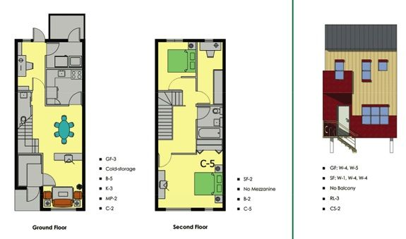 Modern Row House Plans Row House House Plans Plans Modern