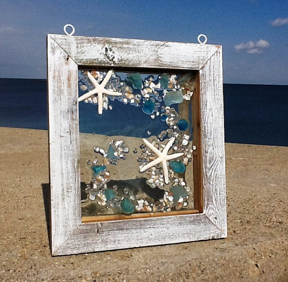 Playa cristal ventana suspensión por beachcreation en Etsy