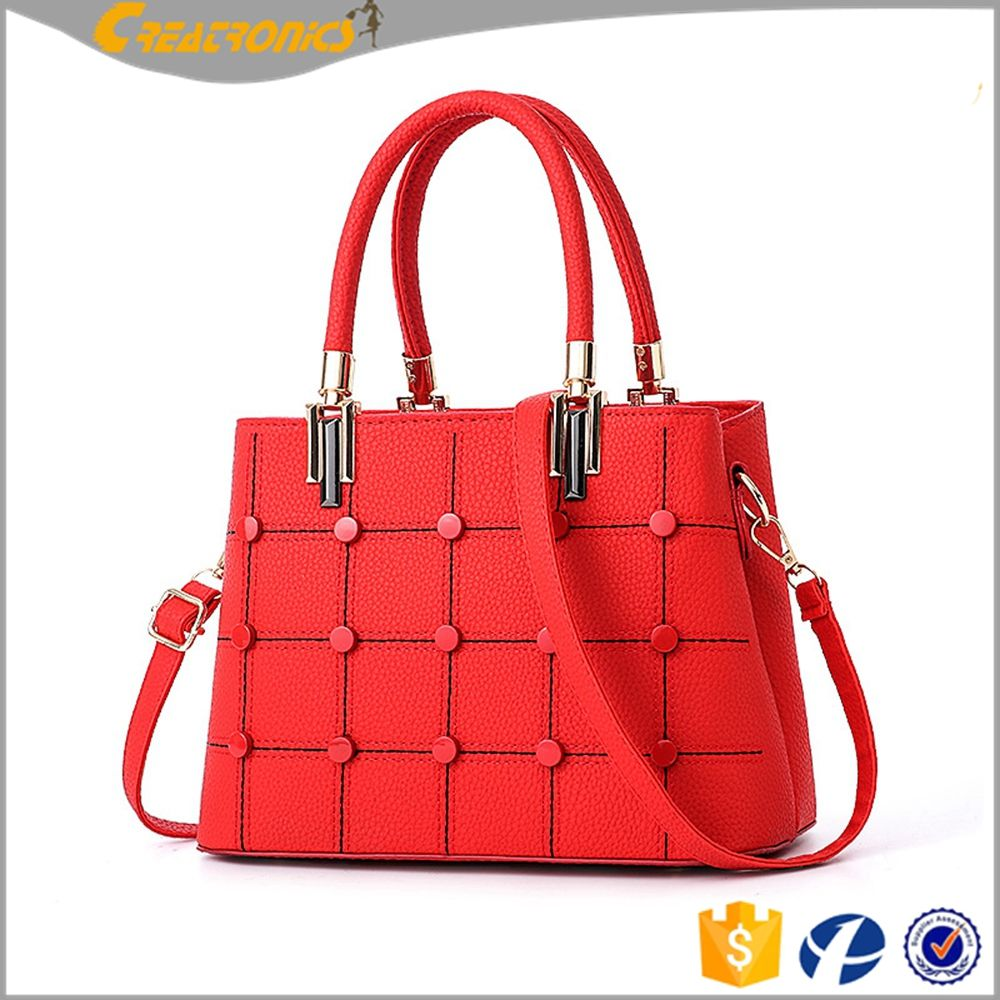 b858971cb4 Gird Design Handbag Women Chic Ladies Bags Handbags 2017 New Models Top 10  Brands