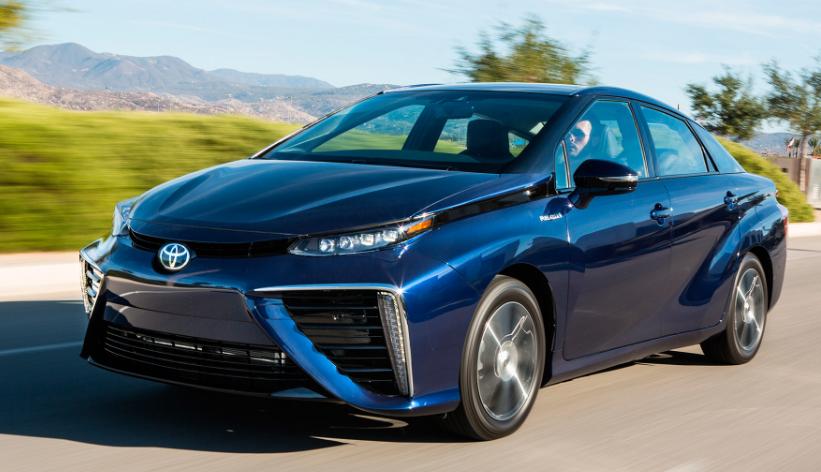 2017 Toyota Mirai Hydrogen car, Fuel cell cars, Toyota cars