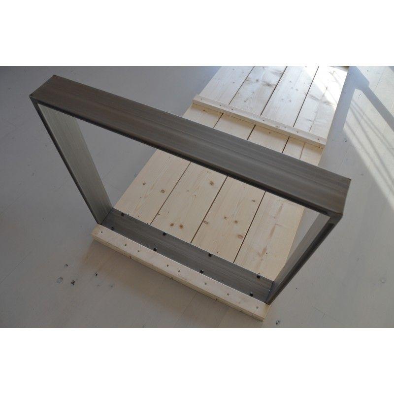 Pied De Table Fer.Pied De Table 71cm Fer Plat Table En 2019 La Fabrique