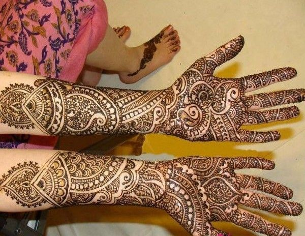 Mehndi For Thin Hands : Simple mehndi designs desings