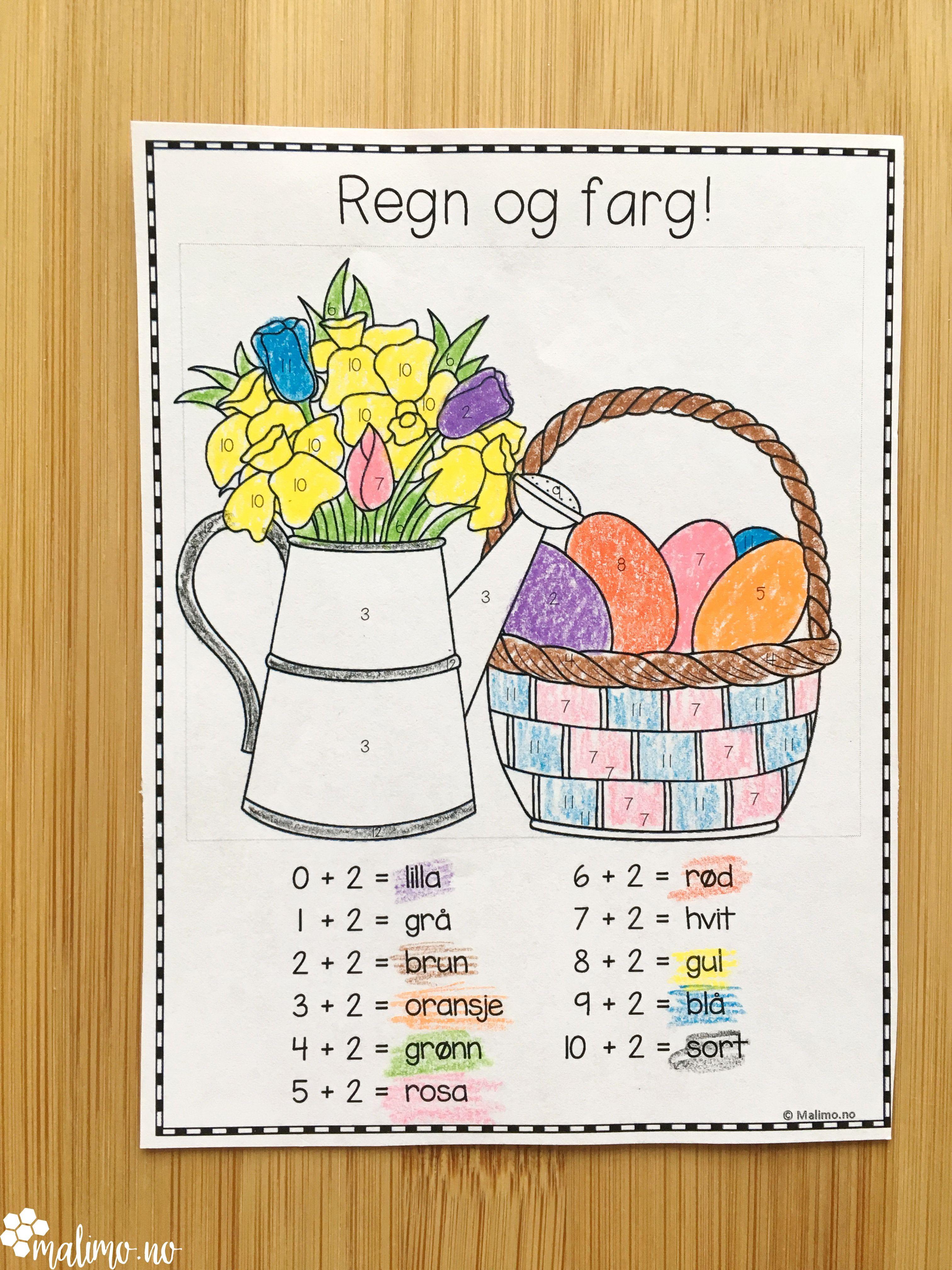 Påskepakke - norsk, matte og KRLE | Malimo.no | Easter ...