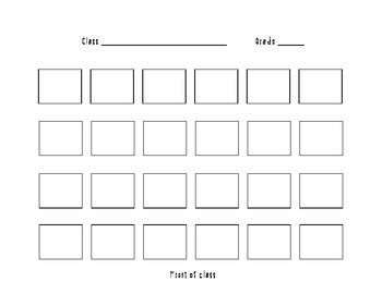 Seating Plan Templates  Google Search  Rubric