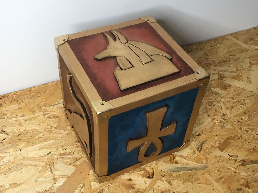 Mystery Cube For The Ark Raider Escape Room By A Props Escape Room Escape Room Puzzles Tiki