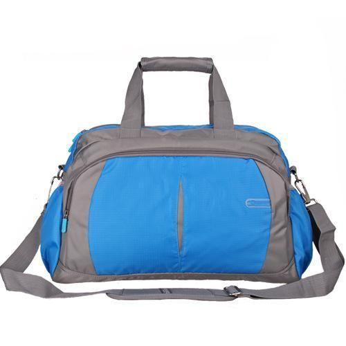 b51e017823 Nylon Sport Gym Bag Outdoor Waterproof women Handbag School Fitness Bag for  Men Shoulder Training Camping Female Yoga Duffel Bag