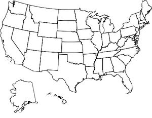 Us Map Fill In States Visited Cool site allows you to make a map of states you've visited! Would