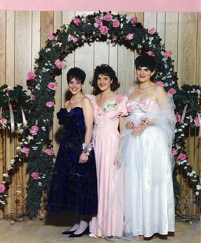 Senior prom, Prom dresses, 80s prom