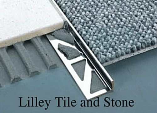 Details About Stainless Steel Square Edge Tile Trim 2 30mm Tile