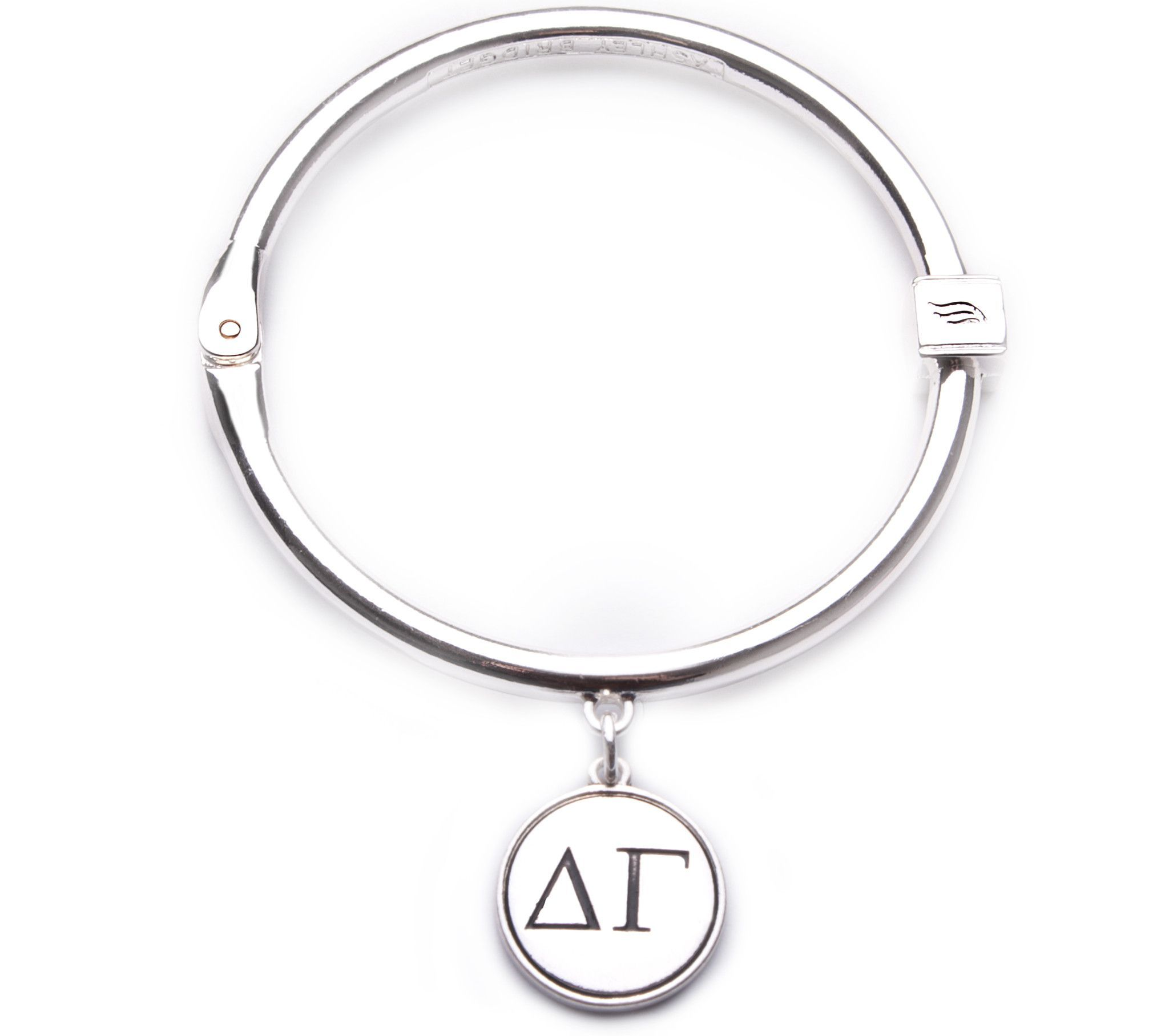 Delta gamma hinge bangle bracelet anchored in delta gamma delta gamma hinge bangle bracelet buycottarizona Gallery
