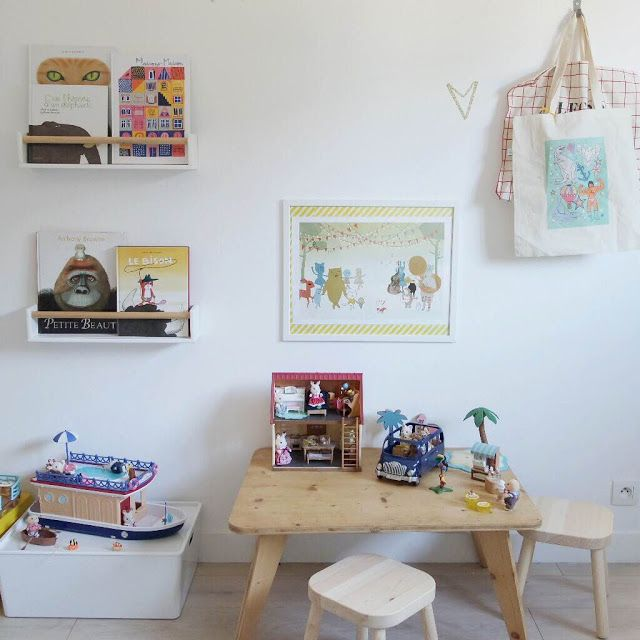 Le nouveau bureau/chambre d\'amis, spécial kids ! - Dans un petit ...