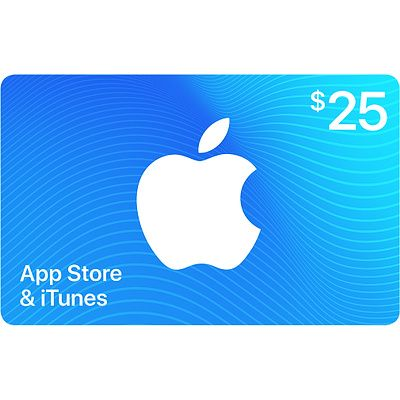 App Store & iTunes Gift Cards 50 Pack 25 Business