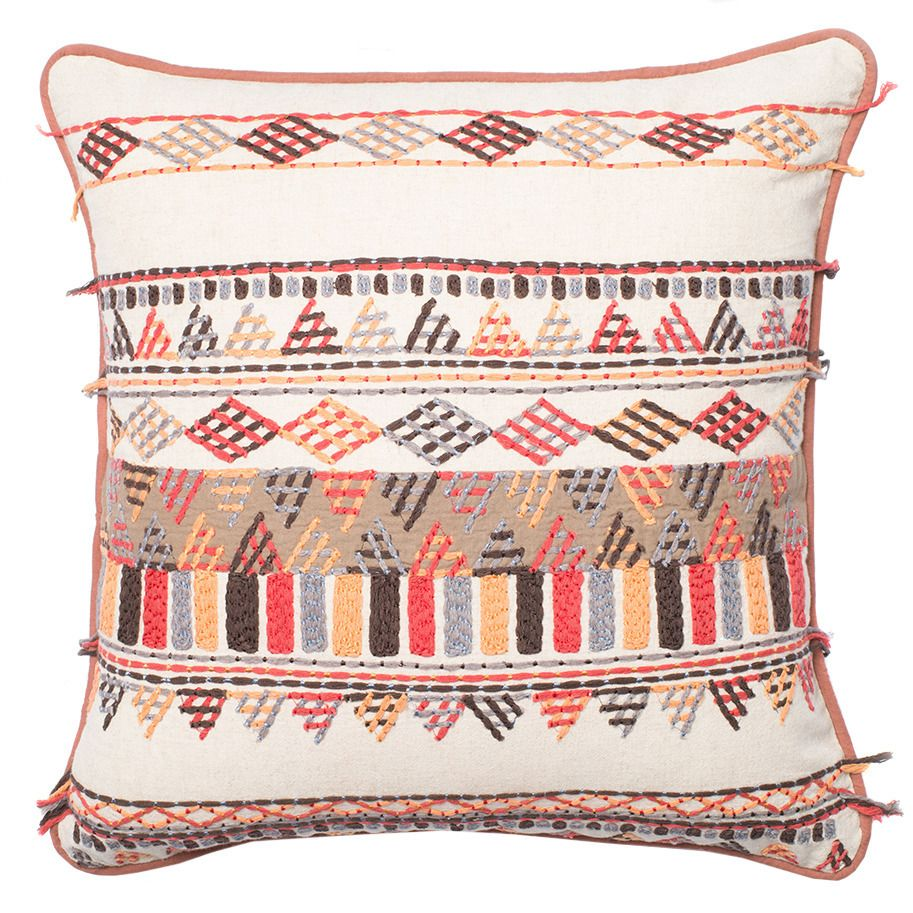 "Solid Texture Pillow Multi 22"" X 22"" by Loloi"