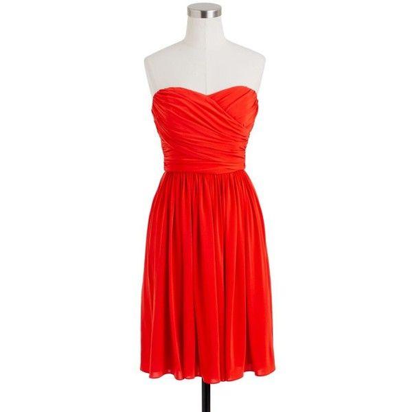 J.Crew Red Evening Dresses