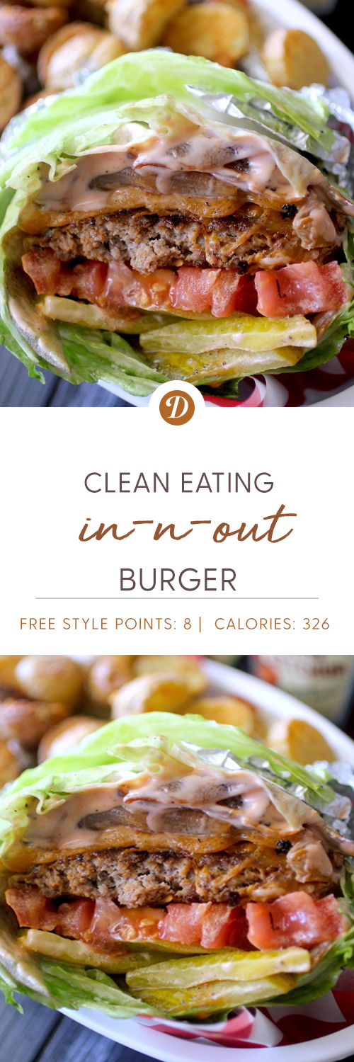 Clean Eating In-N-Out Burgers | Dashing Dish Recipes | Clean