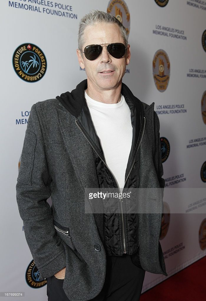 Actor C. Thomas Howell attends Los Angeles Police Memorial Foundation's Celebrity Poker Tournament at Saban Theatre on April 27, 2013 in Beverly Hills, California.