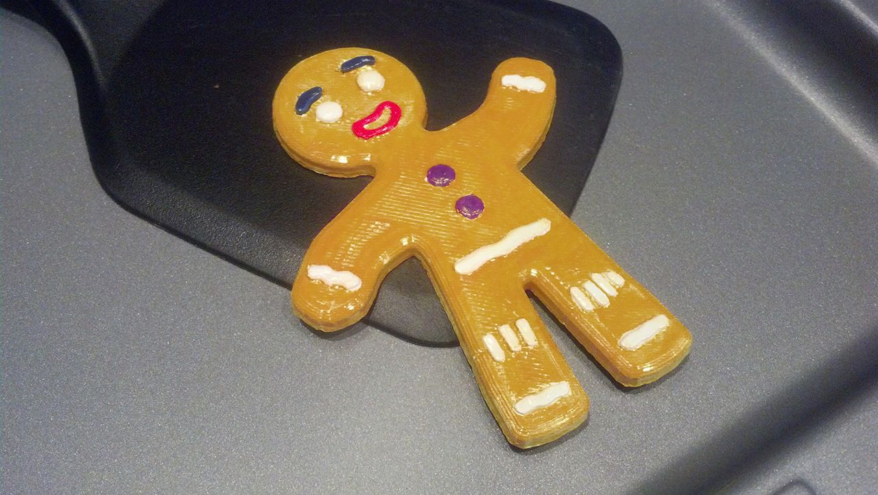 The 12 Prints of Christmas_Day 3. The gingerbread man from