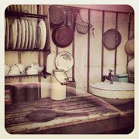 Vintage kitchen corner