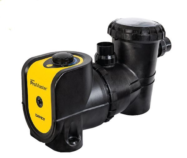 Davey Promaster Variable Speed Drive pool pump. Water