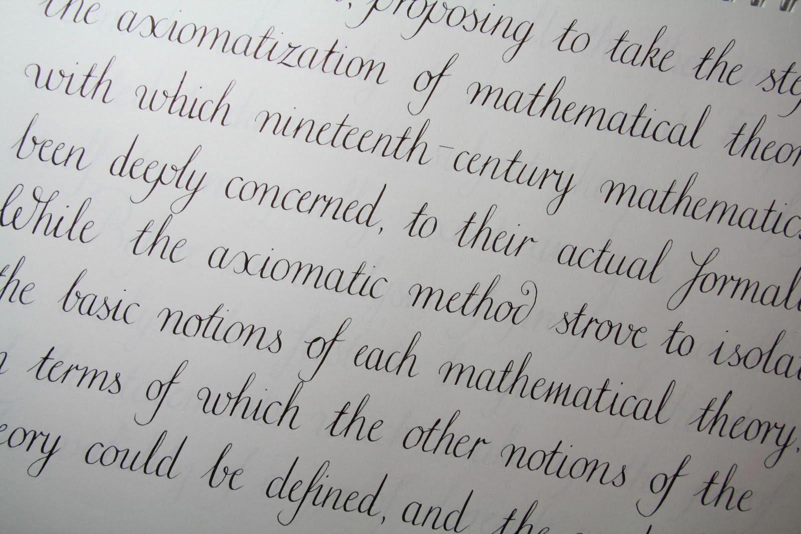 Podobny Obraz Handwritingtips Penmanship