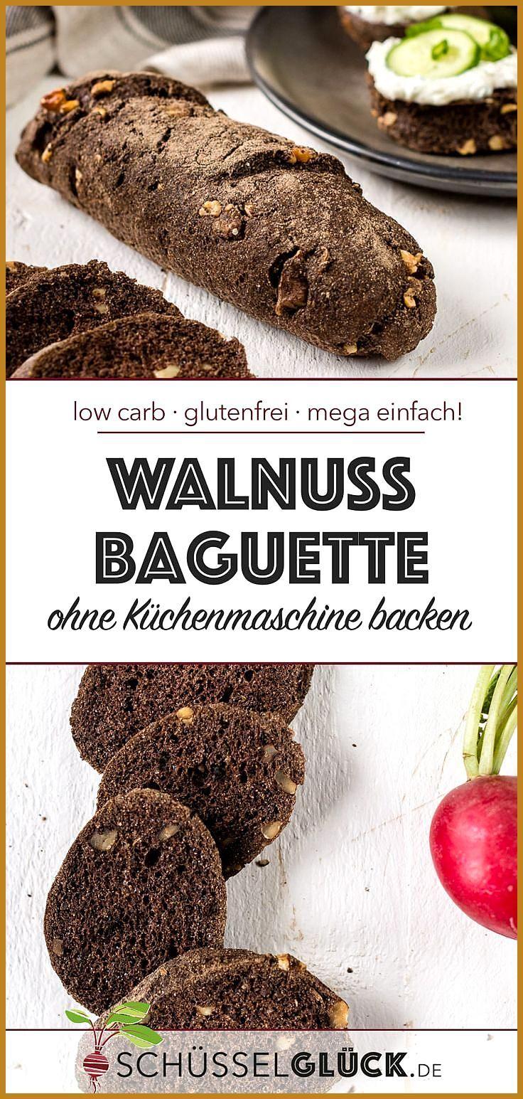 Low Carb Walnuss Baguette (glutenfrei) #Baguette #Carb #Fitness food ideas #Fitness food plan #glute...