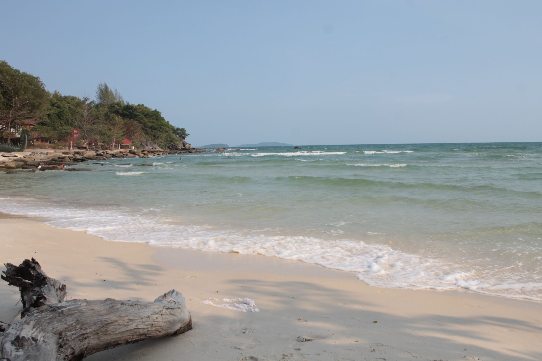 Sokha Beach, una de las playas más limpias de la ciudad