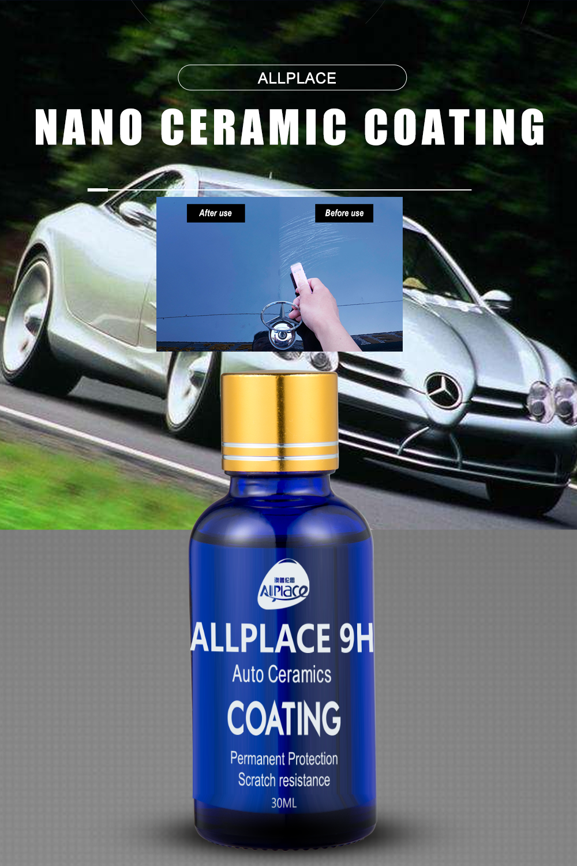 Allplace 9h Car Ceramic Coating In 2020 Ceramic Coating Uv Glue Environmental Protection
