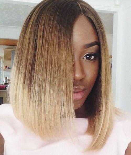60 Showiest Bob Haircuts For Black Women Killer Bobs Pinterest