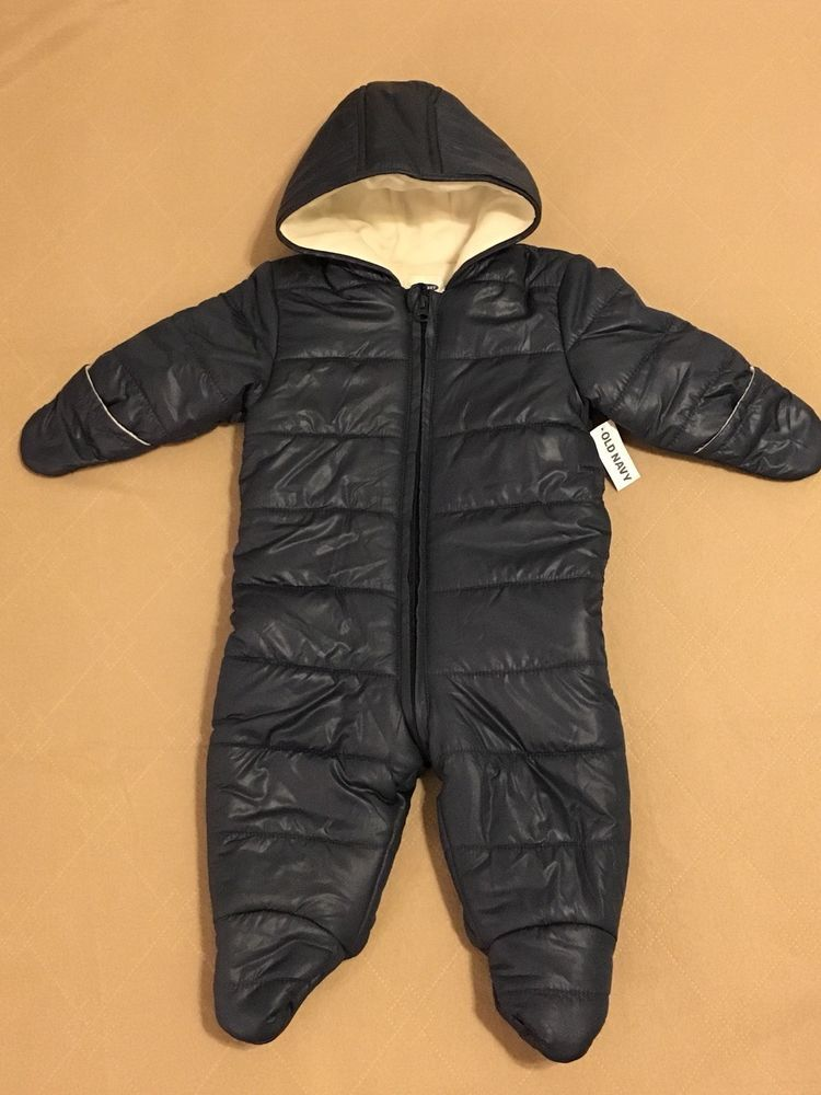 9964ae95f Old Navy baby BOYS 6-12 MONTHS Winter Coat Bunting NAVY Snowsuit #OldNavy  #Coat #Dressy