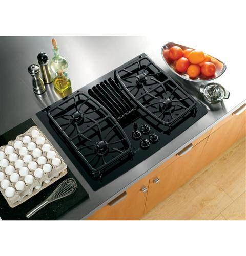 Check Out This 30 Downdraft Gas Cooktop That Features 400 Cfm 3 Speed Exhaust Fan Downdraft Cooktop Gas Cooktop Cooktop