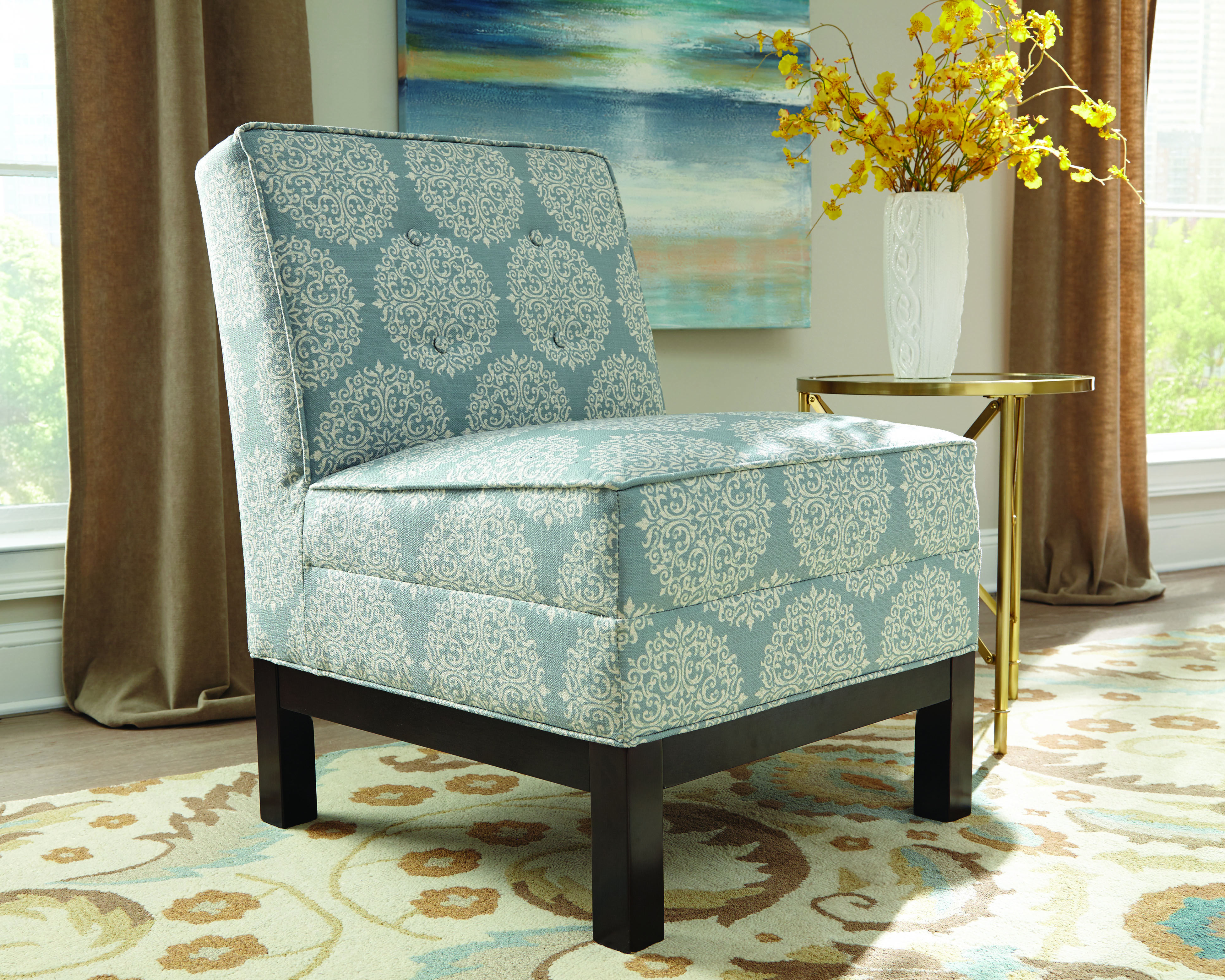 Chair donny osmond home chair accent chairs blue