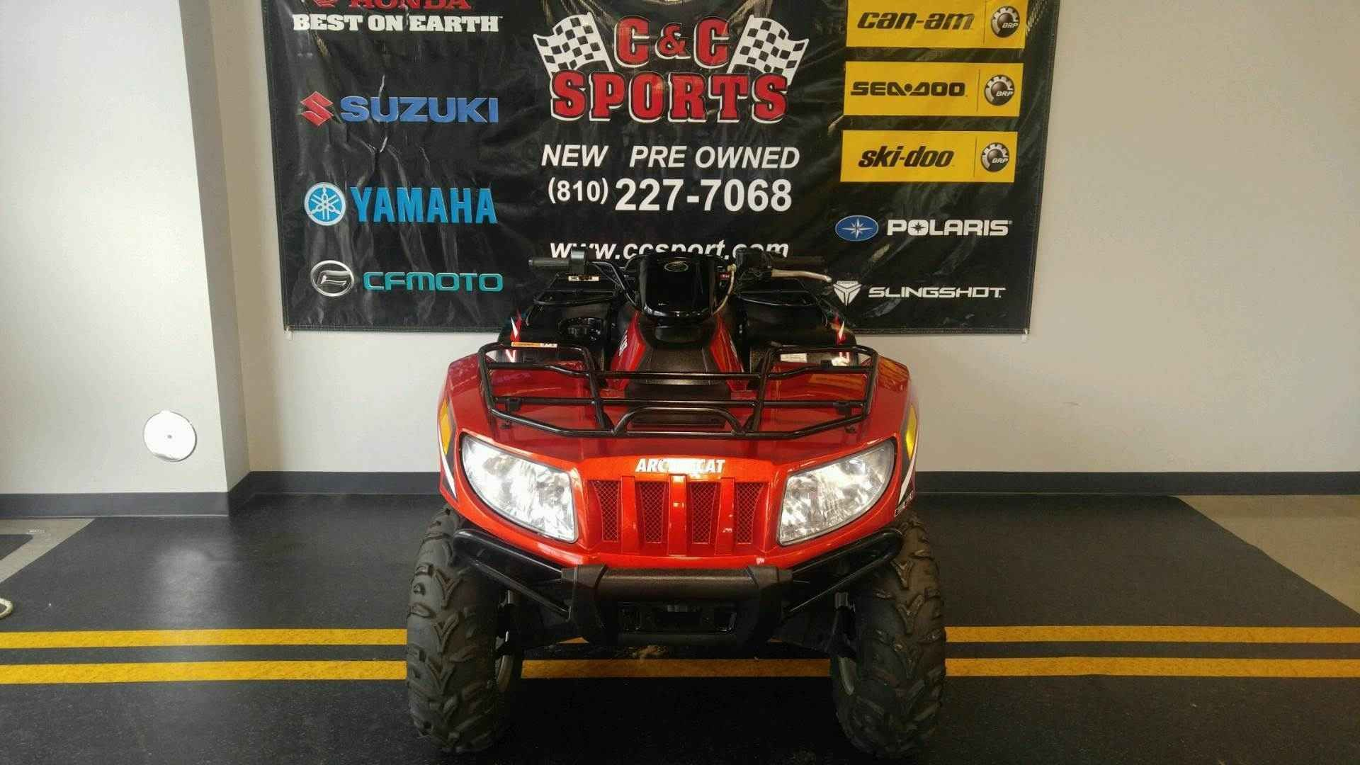 """Used 2013 Arctic Cat 700 XTâ""""¢ ATVs For Sale in Michigan. The ..."""