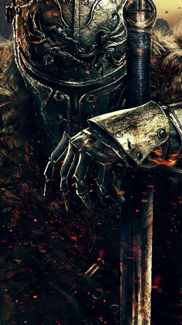 Wallpaper for ( iPhone 6 ) Dark souls, Dark souls 2