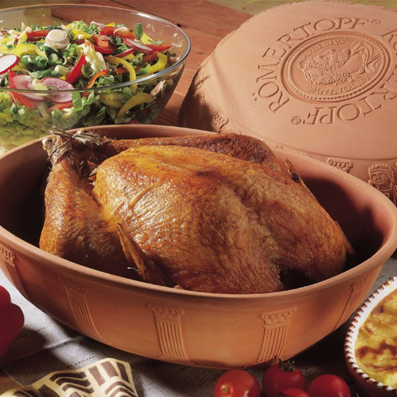ExtraLarge Clay Baker Turkey in roaster, Cooking, Oven