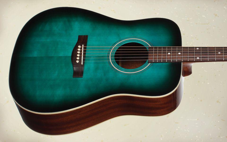 Sts100tbl Acoustic Dreadnought Guitar Teton Guitars Guitar Fender Acoustic Acoustic Guitar Case