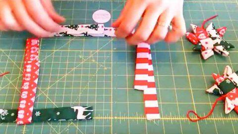 How To Make Scandinavian Fabric Stars Creative Holiday Gifts Scandinavian Fabric Fabric Christmas Trees